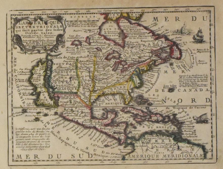 Jacques Chiquet Map California as an island