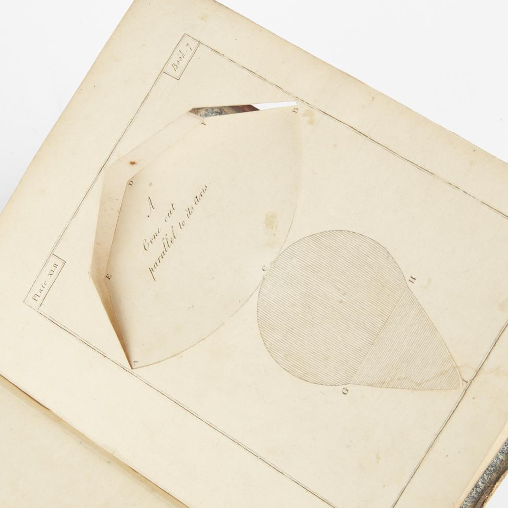 "John Lodge Cowley ""An Appendix to Euclid's Elements"" plate"