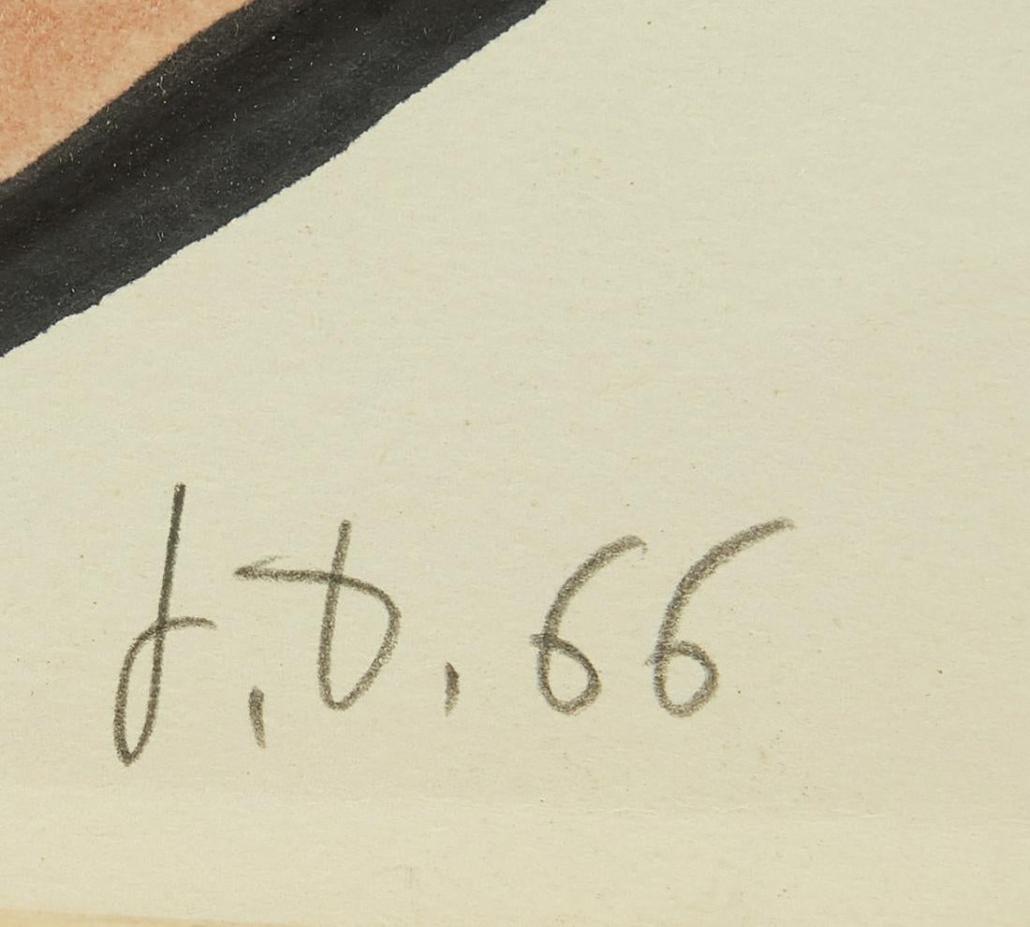 Jean Dubuffet Signature