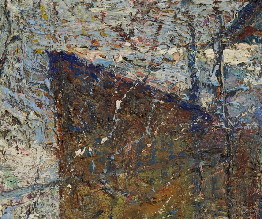 John Costigan Painting Closeup