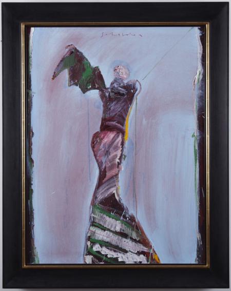 Fritz Scholder Painting