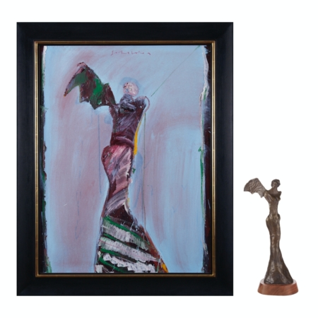 Fritz Scholder Painting & Sculpture