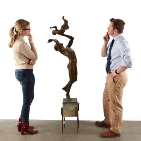 Paul Granlund sculpture scale