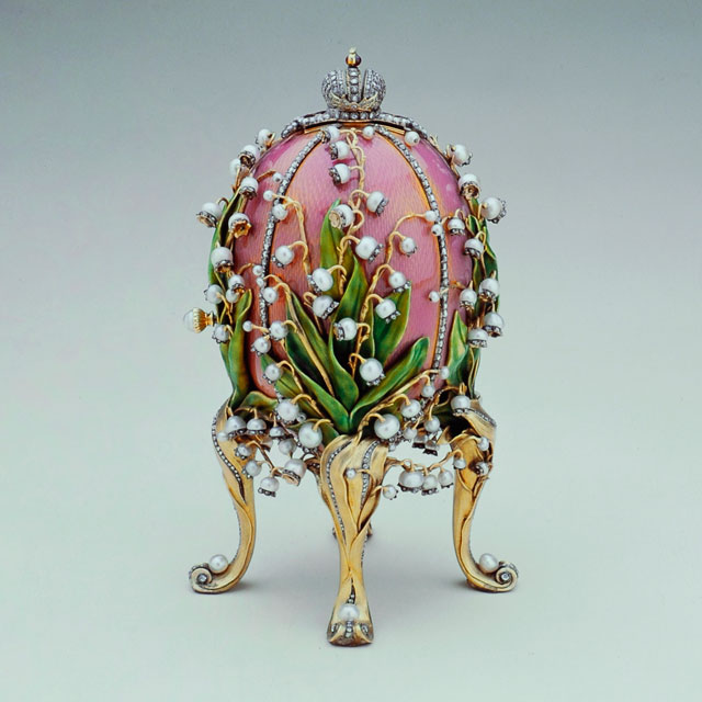Lilies of the Valley Egg, 1898, Faberge