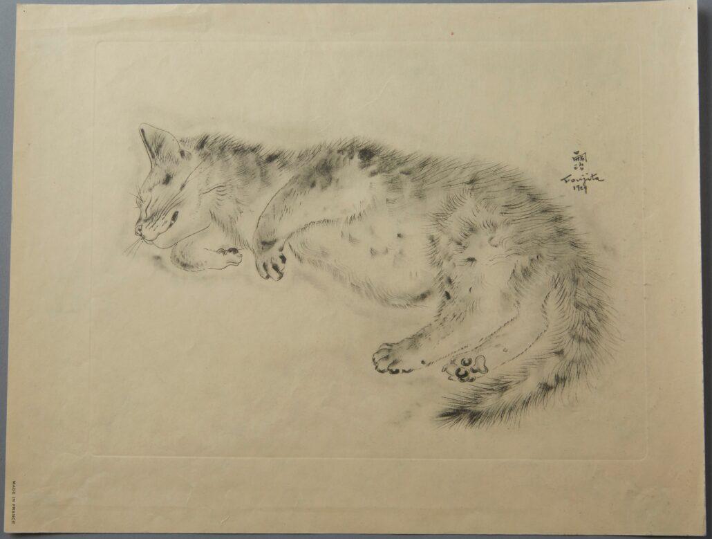 "Leonard Tsuguharu Foujita, ""Oliver"" from ""A Book of Cats"""