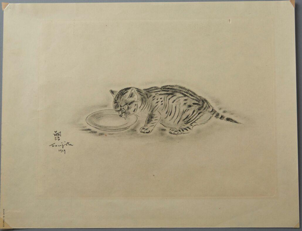 "Leonard Tsuguharu Foujita ""A Book of Cats"""