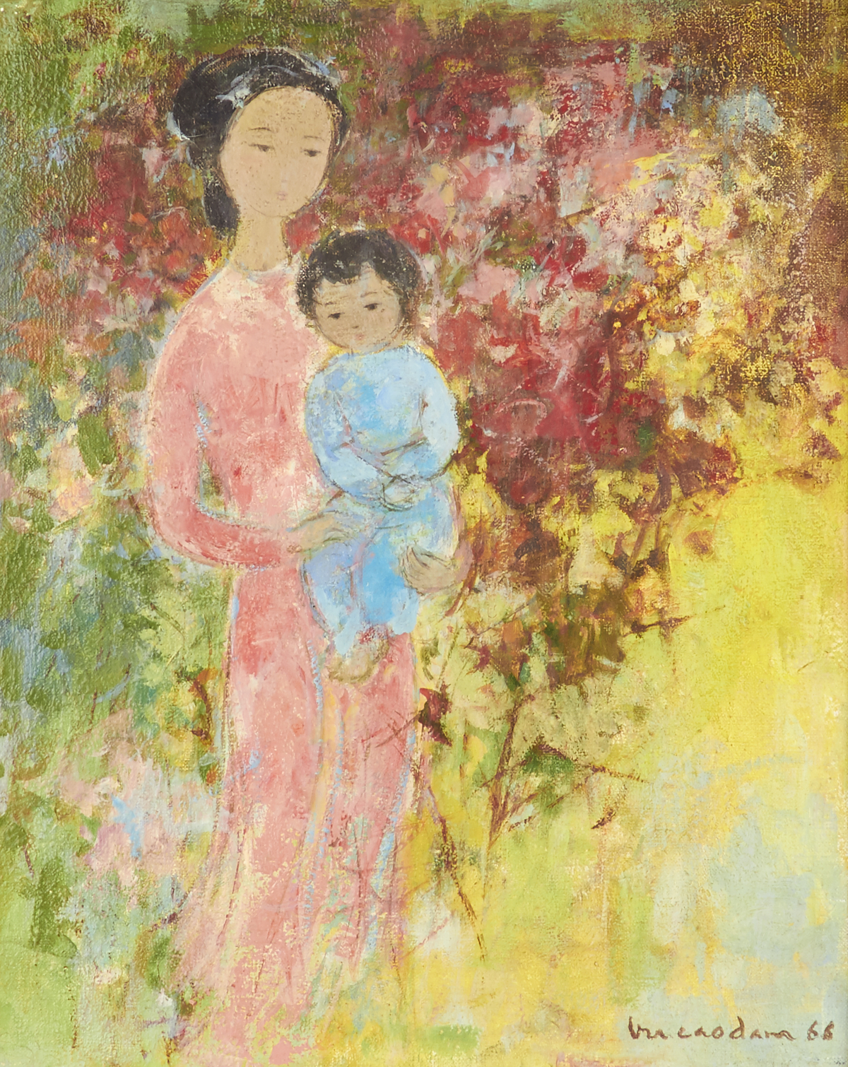 Vu Cao Dam Painting sold for $40,000