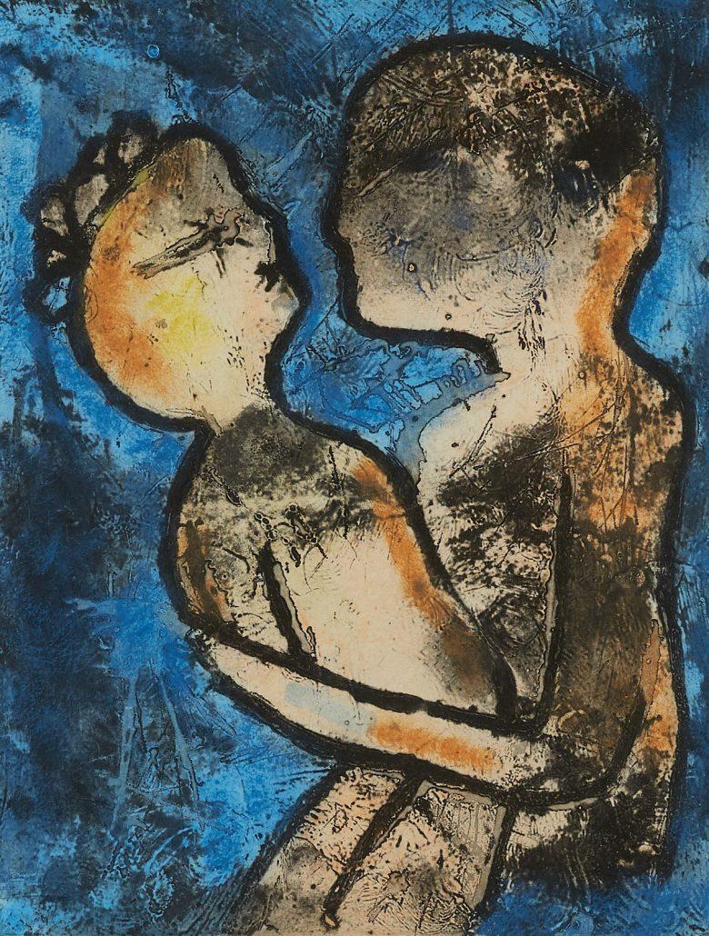 Roberto Matta etching sold for $4,000.