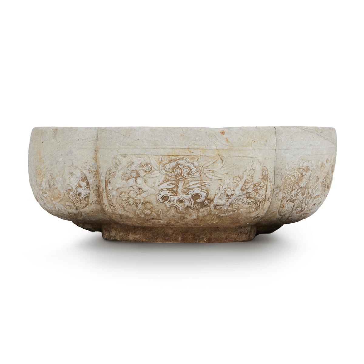 Ming Dynasty Stone Planter